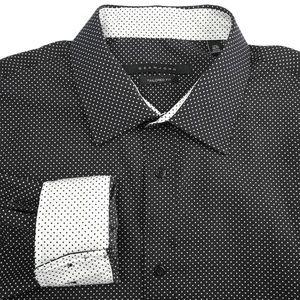 NEW Sean John Spread Collar Dress Shirt